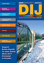 The Door Industry Journal - Summer 2017 Issue