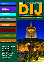 The Door Industry Journal - Winter 2017 Issue